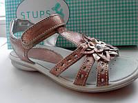 Босоножки кожаные Цветочек Stups , фото 1