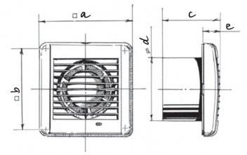 Размеры Blauberg Aero Vintage