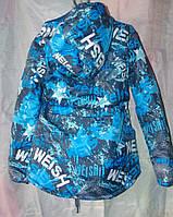 Куртка детская наполнитель синтепон рост(116,122,128,134,140см)