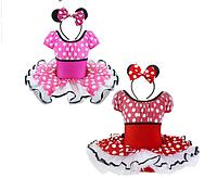 Платье в стиле Микки - пышная юбка