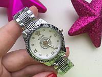 Versace Silver - кварцевые женские часы отличная копия