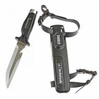 Нож подводный Диабло Разор Diablo Razor с молотком Met Hammer Cap AquaLung