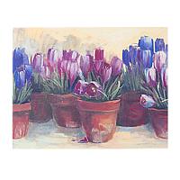 Картина холст Тюльпаны 45*35*2 см