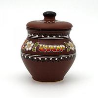 Керамика Вишенка Горшочек Сахар 14*11 см