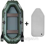 Лодка гребная надувная Kolibri (Колибри) Стандарт (с пайолом air-dreck) KDB К-280СТ /0-863
