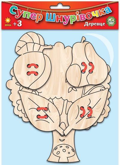Супер шнуровочка Деревце