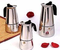 Кофеварка гейзерная 4ч Кamille К200