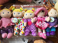 Мягкие куклы 28см