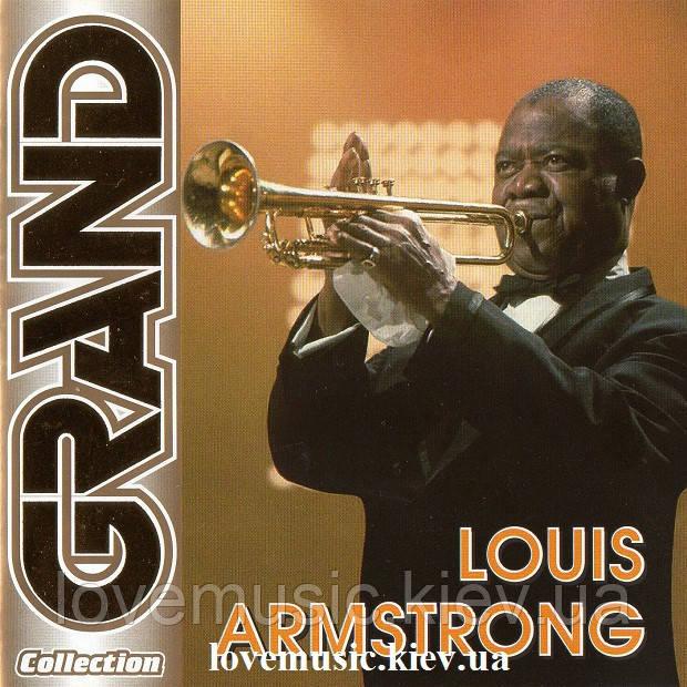 Музичний сд диск LOUIS ARMSTRONG Grand collection (2005) (audio cd)