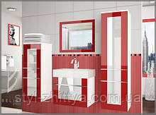 Меблі для ванної кімнати Belini, глянець ELEGANZA 4 PRO+