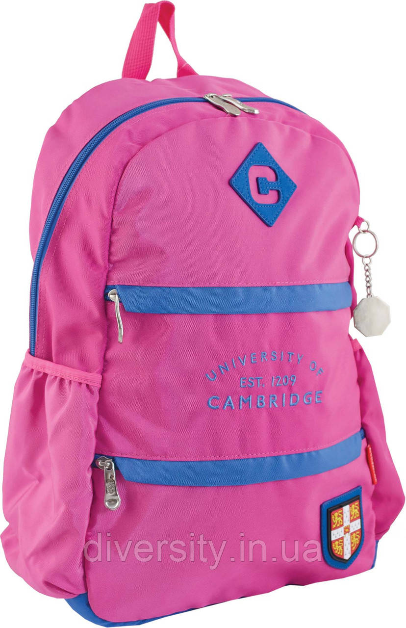Ранец подростковый CA 102, розовый, 31*47*16.5
