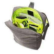 Рюкзак Zipit Reflecto цвет Grey&Green (серый с зеленым), фото 2