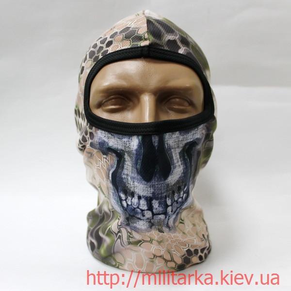 Балаклава маска с черепом Quick Dry Kryptek Highlander