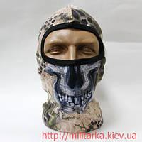 Балаклава маска с черепом Quick Dry Kryptek Highlander, фото 1