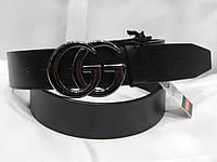 Ремень мужской кожаный GUCCI 40 мм 930507