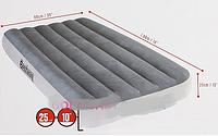 Кровать-матрас велюр надувной одноместный Bestway 67539