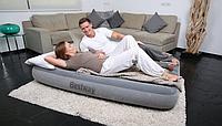 Кровать-матрас велюр надувной одноместный Bestway 67540