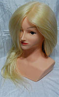 Голова учебная с натуральными термостойкими волосами 75-80см YRE-4-PN-WG YRE
