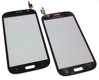 Сенсорный экран (тачскрин) для Samsung i9082 Grand Duos black-blue orig