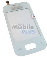 Сенсорный экран (тачскрин) для Samsung S5300 white Galaxy Pocket