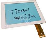 Сенсорный экран (тачскрин) для планшета 9,7 дюймов AMPE A90, Sanei N90 (Model: TPC0321) White