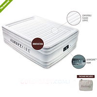 Велюр-матрац надувной со встроенным насосом BESTWAY 67570 (203-156-56см)