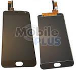 Дисплей (LCD) для Meizu M2 Note (M571) з сенсорним екраном Black