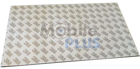 Двухсторонний скотч для тачскрина, дисплея 3M Лист черный (250mm * 140mm * 1mm)