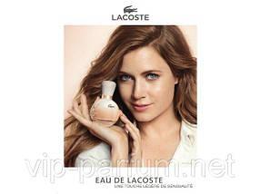 Lacoste Eau De Lacoste Pour Femme парфюмированная вода 90 ml. (Лакост Еу Де Лакост Пур Фем), фото 3