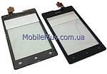 Sony C1505, C1605 Сенсорный экран, Black, original (PN:A/336-0000-00101)