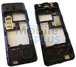 Nokia 206 Средняя часть корпуса DualSIM, Cyan, original (PN:02501L4)