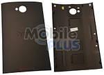 HTC One Dual Sim 802w Крышка аккумулятора, Black, original, (PN:74H02454-04M)