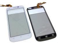 Fly IQ443 Сенсорный экран с защитным стеклом, Белый, original (PN:M202-E88050-000)