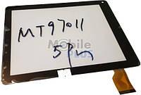 """Сенсорный экран (тачскрин) для планшета 9.7"""" TEXET TM-9740, Explay 921, 3Q BC97 (Model: MT97011-V0) Black"""