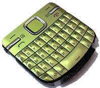 Nokia C3-00 Клавиатура набора номера RUS/ENG QWERTY, Green, original (PN:9791P94)