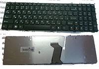 Клавиатура для ноутбука Lenovo IdeaPad B570, B575, V570, Z570 Black