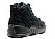 Мужские кроссовки  Nike Air Jordan 12 OVO Black, фото 3