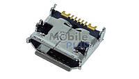 Разъем MicroUSB Samsung C6712, original (PN:3722-003172)