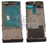 Nokia X3-02 Передняя панель с динамиком, коннектором наушников, Green, original (PN:0259172)