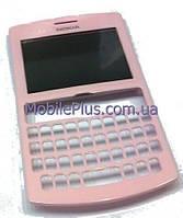 Nokia 205 Передняя панель со стеклом дисплея, Soft Pink, original (PN:0259936)