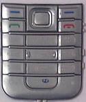 Клавиатура Nokia 6233 silver orig