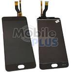 Дисплей (LCD) для Meizu M3 Note (M681Q, M681H) с сенсорным экраном Black