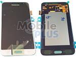 Samsung J320 Galaxy J3 Duos Дисплейный модуль (дисплей с тачскрином), White, original (PN:GH97-18414A)