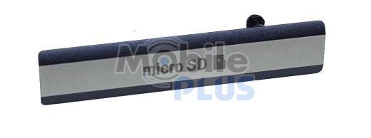 Sony D6503 Заглушка гнізда для картки MicroSD, Black, original (PN:1284-6785)