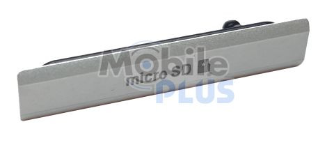 Sony D6503 Заглушка гнізда для картки MicroSD, White original (PN:1284-6789)