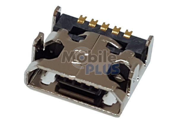 Разъем MicroUSB LG E420, E425, E435, original (PN:EAG63411101)
