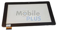 "Сенсорный экран (тачскрин) для планшета 10.1"" GoClever QUANTUM 1010 Mobile Pro (Model: MB1019S5 HOTATOUCH HC261159B1) Black"