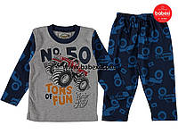 Пижамка для мальчика 4,5,6 лет. к.84374