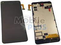 Microsoft Lumia 550 Передняя панель с дисплеем и сенсорным экраном, original (PN:00814D6)