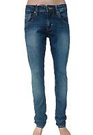 Мужские джинсы синие узкие Киев- FB 14-327 ROM 5302